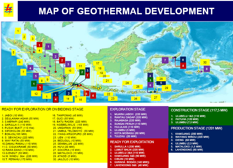 map-of-geothermal-development-2012